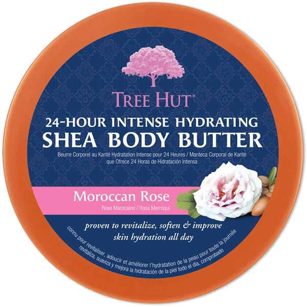 Tree Hut Shea Body Butter Moroccan Rose (Picture 2 of 2)