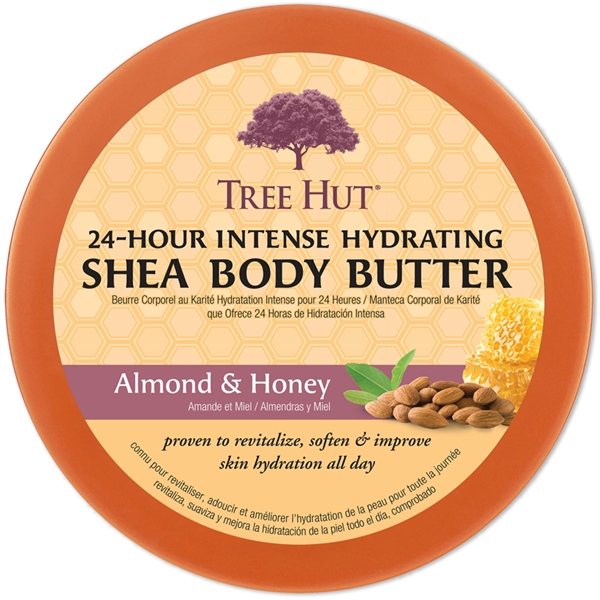 Tree Hut Shea Body Butter Almond & Honey (Picture 2 of 2)