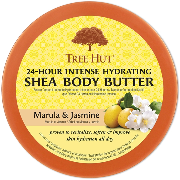 Tree Hut Shea Body Butter Marula & Jasmine (Picture 2 of 2)
