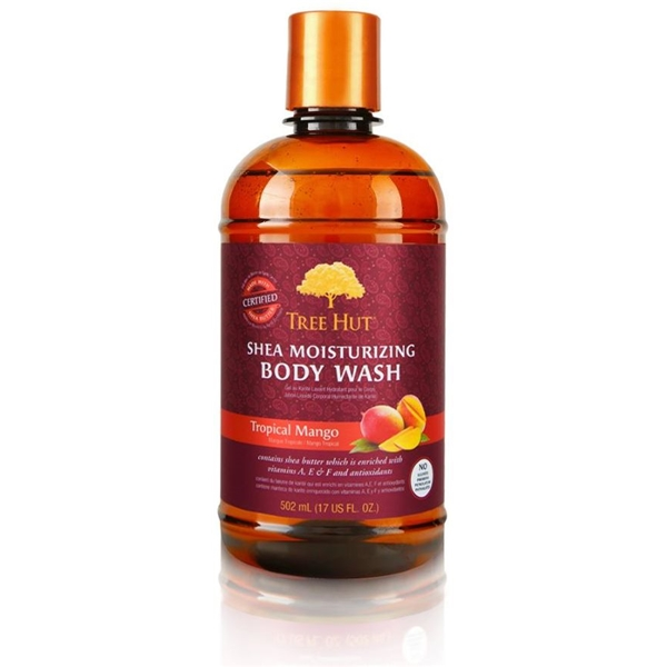 Tree Hut Shea Body Wash Tropical Mango (Picture 1 of 3)
