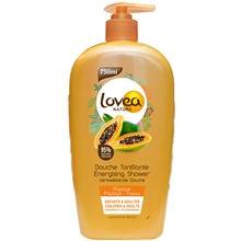 750 ml - Lovea Nature Papaya Shower Gel