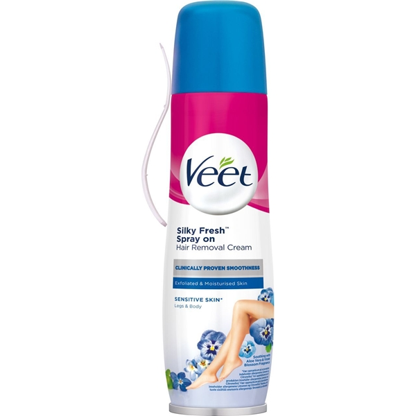 Veet Spray On Hair Removal Cream Veet Hair Removal Shopping4net
